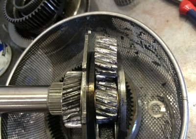 Damaged Gears